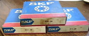 NEW SKF LOT OF 3 BEARINGS 6212 JEM