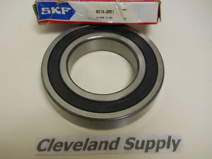 SKF 6214-2RS1 SEALED BOTH SIDES ROLLER BEARING 2-3/4 ID NEW CONDITION IN BOX
