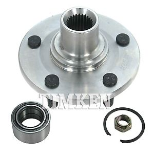 Wheel Bearing and Hub Assembly Front TIMKEN 520000