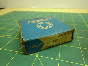 SKF ROLLER BEARING WITH INNER RACE 1 3/8 I.D. X 62mm O.D. #4405A