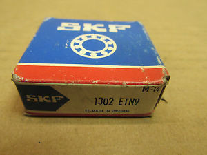 NIB SKF 1302 ETN9 SELF ALIGNING BEARING 1302ETN9 NEW