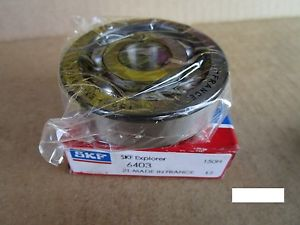 SKF 6403 Radial Bearing, Single Row (=2 FAG, SNA, NTN, NSK, TIMKEN 403K)