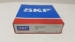 **NEW** SKF 6309,Radial/Deep Groove Ball Bearing-Metric