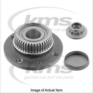 WHEEL HUB INC BRG & ABS RING VW Polo Hatchback GTi MK 3 Facelift (2000-2002) 1.6
