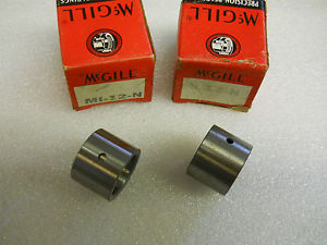 """MCGILL MI-12-N BEARING INNER RACES 3/4"""" BORE *SET OF 2* NEW CONDITION IN BOX"""