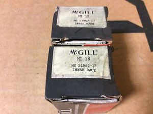 2-McGILL bearings#MI 18 ,Free shipping lower 48, 30 day warranty!