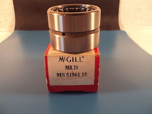 McGill MR 20, MR20, MR Series CAGEROL Bearing, Outer Ring & Roller Assembly