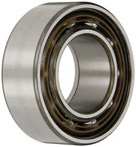 SKF 3209 ATN9 Double Row Ball Bearing, Converging Angle Design, ABEC 1