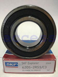 6205-2RS C3 1 PC SKF FRANCE PRECISION BEARING NEW IN BOX SHIPS FROM THE U.S.A.