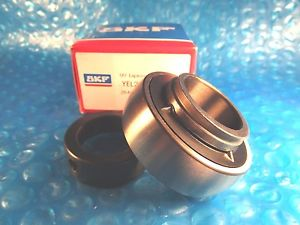 SKF YEL206-2F, Ball Bearing Insert, 30 mm Shaft, 62 mm OD