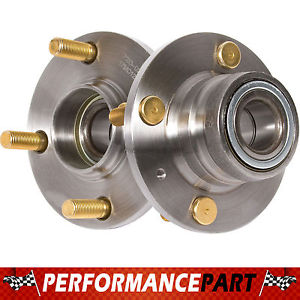 2 New GMB Rear Left and Right Wheel Hub Bearing Assembly Pair w/o ABS 720-0212