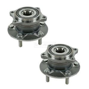 Rear Wheel Hub & Bearing Pair TIMKEN HA590275 for 08-13 Lancer Evo
