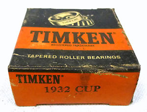 Timken 1932 CUP Tapered Roller Bearing Cup