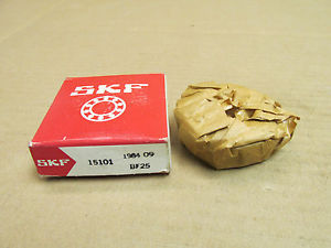 "NIB SKF 15101 TAPERED ROLLER BEARING 15 101 WHEEL 25.4mm 1"" ID NEW"