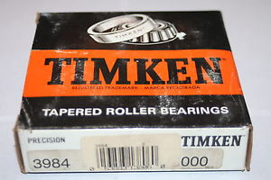 Timken 3984 Tapered Roller Bearing Precision Cone Class 3 * NEW *