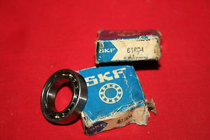 NEW Lot of (3) SKF Radial Ball Bearings 61804- BRAND NEW (2 in box, 1 without)