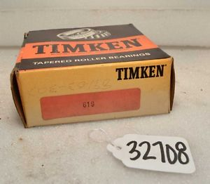 Timken 619 Tapered Roller Bearing (Inv.32708)