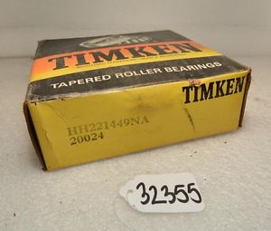 Timken HH221449NA Tapered Roller Bearing (Inv.32355)