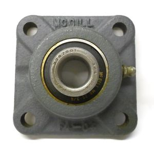 "MCGILL FLANGE BEARING F4-04, 4-HOLE, 3/4"" ID"