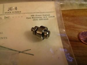 BERG Cam Follower P/N: JE-4 New 8/32 thread 303 Stainless bearing