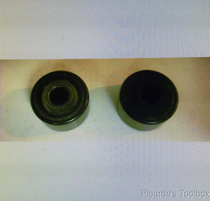 (2) Used McGill CYR-1 ¼-S Cam Follower Roller Bearings