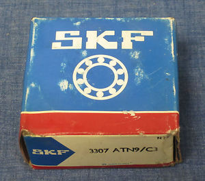 SKF Double Row Ball Bearing – 3307 ATN9/C3 – NIB!!!