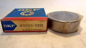 NEW IN BOX SKF 63006-2RS1 SHIELDED BALL BEARING