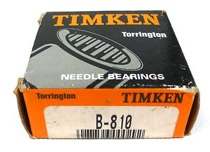 Timken Torrington B-810 Needle Bearing