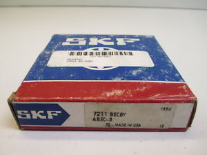 SKF 7211 BECBY CONTACT BALL BEARING MANUFACTURING CONSTRUCTION NEW