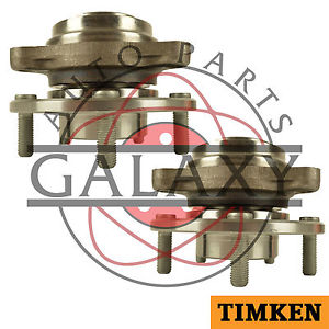 Timken Pair Front Wheel Bearing Hub Assembly For Chevy Blazer 1991 S10 1983-1993