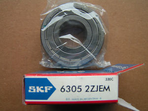 SKF 6305 2ZJEM Roller Bearing NEW!!! in Box Free Shipping
