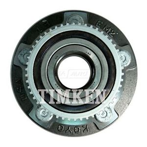 Front Wheel Hub & Bearing TIMKEN for Ford Lincoln w/ABS
