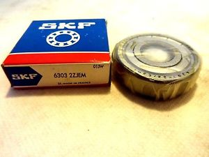 NEW IN BOX SKF 6303-2ZJEM BALL BEARING