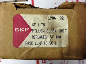 SKF BEARING SY1TM (REPLACES: SY100) PILLOW BLOCK UNIT