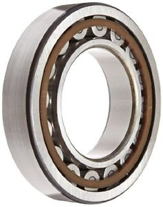 SKF NU 212 ECP Cylindrical Roller Bearing, Removable Inner Ring, Straight, High