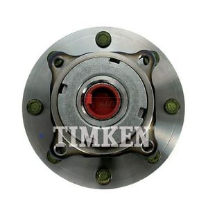 TIMKEN Front Wheel Hub & Bearing for 99 Ford Super Duty Pickup Truck 4WD 4×4