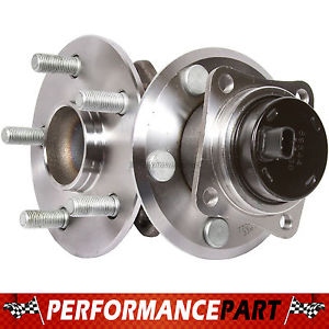 2 New GMB Rear Left and Right Wheel Hub Bearing Assembly Pair w/ ABS 770-0316