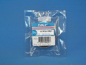 SKF 61906-2RS1 Bearing (New)