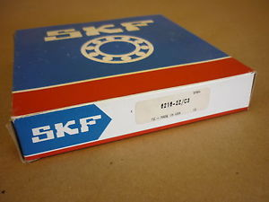 SKF BALL BEARING 6216 ZZ/C3 DOUBLE SHIELDED , NIB