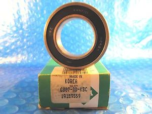 INA 6007DD-KBC, KBC 60072RS Single Row Radial Bearing (=SKF, Timken 9107PP)