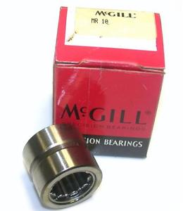 """BRAND NEW IN BOX MCGILL BEARING 5/8"""" X 1-1/8"""" X 1"""" MR10 (2 AVAILABLE)"""