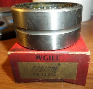 McGill Needle Roller Bearing MR-32-RSS MR32RSS New