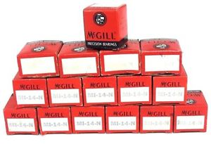 LOT OF 16 NIB McGILL MI-14-N CAGEROL PRECISION INNER BEARINGS MI14N