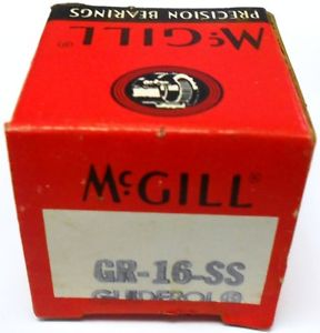 "McGILL BEARING GR-16-SS, 13/16"" BORE"