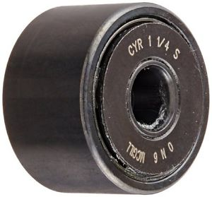 "McGill CYR1 1/4S Cam Yoke Roller, Sealed, Inch, Steel, 1-1/4"" Roller Diameter,"
