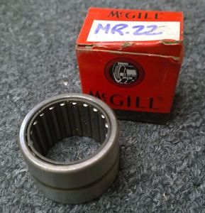 NOS McGill MR22 Needle Roller Bearing MR 22 47.7mm OD 31.8mm Width