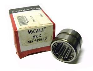 "NEW MCGILL MR-12 CAGEROL BEARING 3/4"" X 1-1/4"" X 1"""