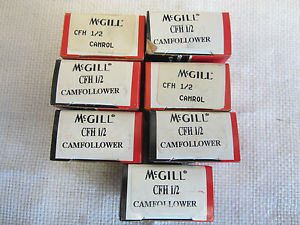 MCGILL CFH ½ CAMFOLLOWER (7 PCS)