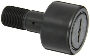 """McGill CF2S Cam Follower, Standard Stud, Sealed/Slotted, Inch, Steel, 2"""" Roller"""