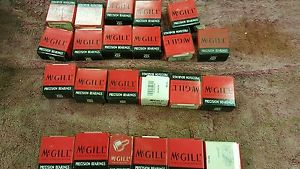 McGill precision bearings CFH 1B, 3/4B, 5/8B lot of 23